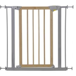 Hauck - Wood Lock Safety Gate, silber