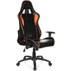 Gaming Stuhl / Bürostuhl Sportsitz Kunstleder SPIELBERG III schwarz/orange hjh OFFICE