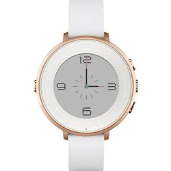 Pebble 60100046 Time Round Smartwatch 14mm silber/stone