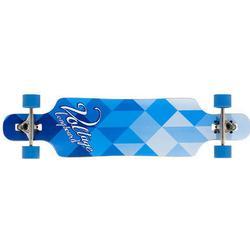 Longboard-Komplett Voltage DT Blau/Weiß