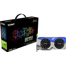 Palit GeForce GTX 1080 GameRock 8GB GDDR5X Grafikkarte DVI/HDMI/3xDP