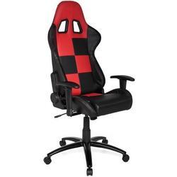 * Gaming Stuhl / Bürostuhl Sportsitz Kunstleder SUZUKA schwarz / rot hjh OFFICE