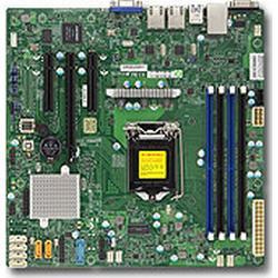 Supermicro X11SSL-F: LGA1151, E5-1200v5