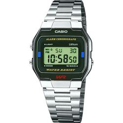 Casio A163WA-1QES Casio Collection Steel 36.8x33 mm
