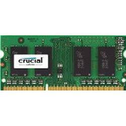 Crucial 2GB Single DDR3 1066 MT/s Arbeitsspeicher ((PC3/8500) SODIMM 204/Pin Speicher für Mac / CT2G3S1067MCEU)