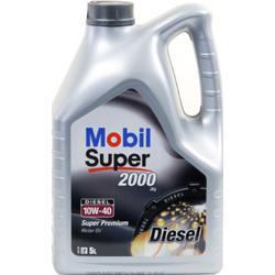 Mobil Super 2000 X1 Diesel 10W-40 5 Liter