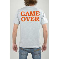 T-Shirt Grau, Game Over