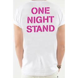 T-Shirt weiß, One Night