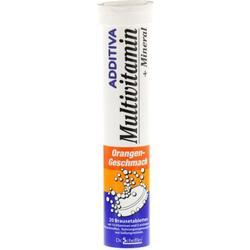 ADDITIVA Multivit.+Mineral Orange R Brausetabl. 20 St