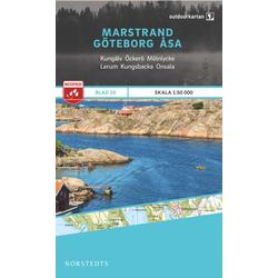 Nordstedts Blad 20 Marstrand-Göteborg-Åsa 1:50 000