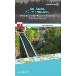 Nordstedts Blad 17 Ed-Åmål-Köpmannebro 1:50 000