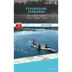 Nordstedts Blad 27 Stockholms skärgård 1:50 000