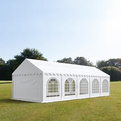 Partyzelt 3x10m PVC weiß Gartenzelt, Festzelt, Pavillon