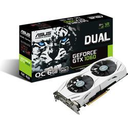 Asus Dual/GTX1060/6G Gaming Nvidia GeForce Grafikkarte (PCIe 3.0, 6GB DDR5 Speicher, HDMI, DVI, Displayport)