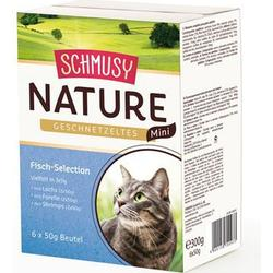 Schmusy Nature Geschnetzeltes Mini Fisch Selection 6x50g