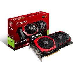 MSI GeForce GTX 1060 Gaming 6GB Nvidia GDDR5 1x HDMI, 3x DP, 1x DL/DVI/D, 2 Slot Afterburner OC, VR Ready, 4K/optimiert,  Grafikkarte