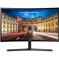 Samsung LC24F396FHUXEN 59,8 cm (23,5 Zoll) Curved LCD Monitor (HDMI, 15pin D-Sub, 4 ms Reaktionszeit