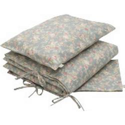 Bedset Cotton Numero 74 Flower / Silver grey