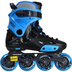 Powerslide Imperial Junior verstellbare Inline Skates Freeskating Größe 34-36  gelb