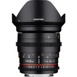 Samyang 20mm T1.9 VDSLR ED AS UMC Sony E-Mount