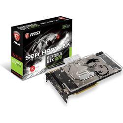 MSI GeForce® GTX 1070 Sea Hawk EK X 8 GB (V330-013R)(NVIDIA, Grafikkarte)