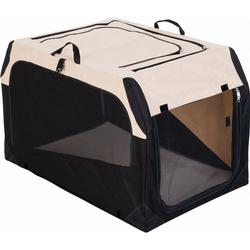 Hunter Hundebox Transportbox faltbar, XL: 106 x 71 x 69 cm