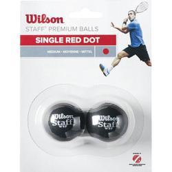 Squashb�lle Wilson Staff Squash 2 Ball Dot