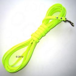 FLEXI Leine NEON , gelb/schwarz 5 Meter in verschiedenen Farben (Gurt / für Hunde bis max. 50 kg)