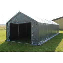 Lagerzelt Garagen PRO 4x10x2x3,1m, PVC, Grau