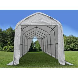 Zelthalle multiGarage 4x10x3,5x4,5m, Weiß