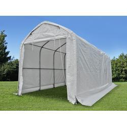 Zelthalle multiGarage 4x12x4,5x5,5m, Weiß