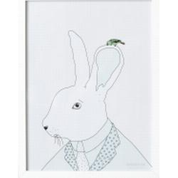Poster A3 Garbo&Friends Rabbit Whisper