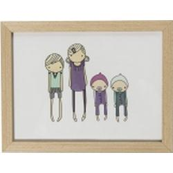 Wooden frame Sebra Children