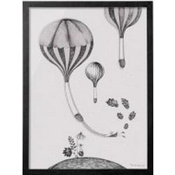 Framed picture Bloomingville Balloon Hill