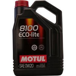 Motul 8100 Eco-lite 0W-20 5 Liter Kanne