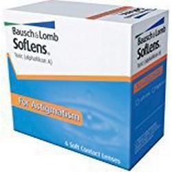 SofLens Toric Monatslinsen weich, 6 Stück / BC 8.50 mm / DIA 14.50 CYL /1.25 / ACHSE 110 / +03.25 Dioptrien