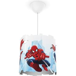 Philips Marvel Spiderman Pendelleuchte, blau/rot, 717514016