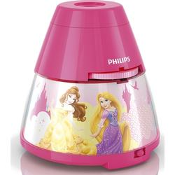 Philips LED-Kinderleuchte Projektor Disney Princess