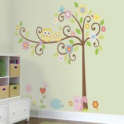 Roommates - Scroll Tree - Mega Wallstickers (RMK1439SLM)