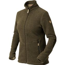 FjallRaven Alice Fleece - Dark Olive - Jagdjacken L