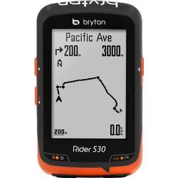 Bryton Rider 530 T GPS Fahrradcomputer - Herzfrequenzsensor (HRM) und Geschwindigkeits-/Trittfrequenzsensor
