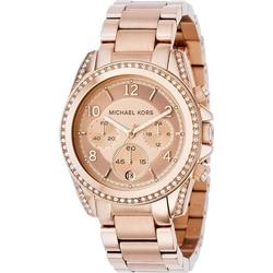 Michael Kors MK5263 Blair Chronograph Rose gold colored/Rose gold color