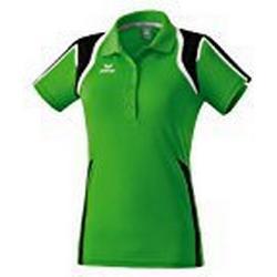 ERIMA Damen Poloshirt Razor Line, green/schwarz/weiß, 34