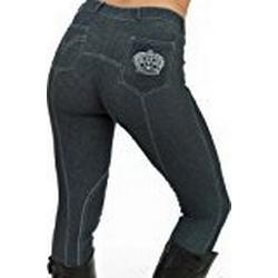 Sherwood Forest Women'Reithose brombeer Denim/Silber 34