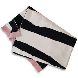 Knitted cotton blanket Elodie Details Zebra Sunshine