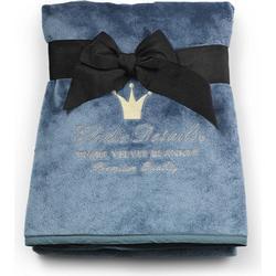 Pearl Velvet Blanket Elodie Details Pretty Petrol