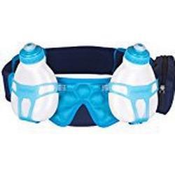 FuelBelt Trinkgürtel mit 2 Flaschen Helium Bottle Belt, Blue/Blue, XL, 0873855001771