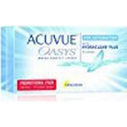 Acuvue Oasys for Astigmatism 2/Wochenlinsen weich, 12 Stück / BC 8.6 mm / DIA 14.5 / CYL /1.25 / Achse 80 / 0.50 Dioptrien