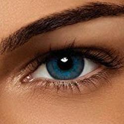 Alcon Air Optix Colors, brilliant blue, Monatslinsen weich, 2 Stück / BC 8.6 mm / DIA 14.2 / /0.5 Dioptrien
