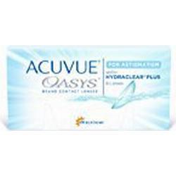 Acuvue Oasys for Astigmatism 2/Wochenlinsen weich, 6 Stück / BC 8.6 mm / DIA 14.5 / CYL /1.75 / Achse 10 / 5.00 Dioptrien